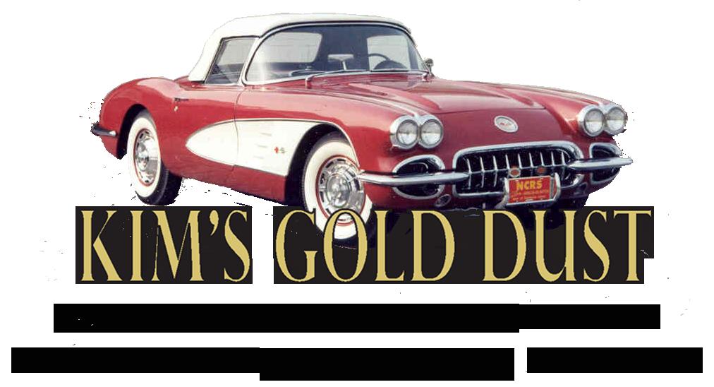 Kims Gold Dust Corvette jewelry & Corvette accessories